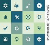 audio icons universal set for... | Shutterstock .eps vector #274676489
