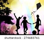 childhood | Shutterstock . vector #274683761