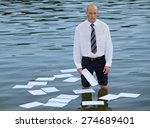 portrait of businessman... | Shutterstock . vector #274689401
