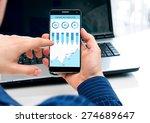 phone interface has been... | Shutterstock . vector #274689647