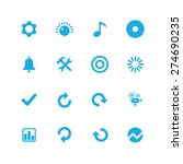 audio icons universal set for... | Shutterstock .eps vector #274690235