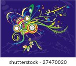 abstract nature illustration... | Shutterstock .eps vector #27470020