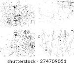 splatter paint texture ....   Shutterstock .eps vector #274709051