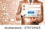 login and password | Shutterstock . vector #274719425