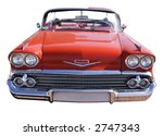red classic car | Shutterstock . vector #2747343