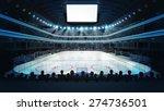 hockey stadium with spectators... | Shutterstock . vector #274736501