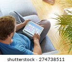 smart house  home automation ...   Shutterstock . vector #274738511