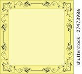 border  frame designs | Shutterstock .eps vector #27473986