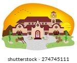 cartoon illustration of spanish ...   Shutterstock .eps vector #274745111