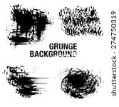 grunge elements   illustration | Shutterstock .eps vector #274750319