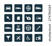 auto icons universal set for... | Shutterstock .eps vector #274784369