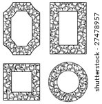 four ornamental frames | Shutterstock .eps vector #27478957