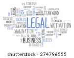 Legal Word Cloud Business...