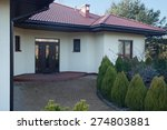Small photo of Front of luxury parter villa