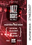 Jazz Music Poster Template....