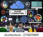 people seminar global... | Shutterstock . vector #274855889