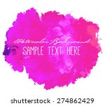 abstract beautiful bright... | Shutterstock .eps vector #274862429