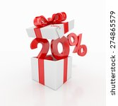 20 percent discount and gift