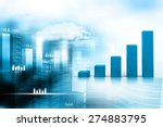 business graph | Shutterstock . vector #274883795