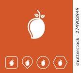 mango icon on flat ui colors...
