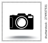 photo camera sign icon  vector... | Shutterstock .eps vector #274937531