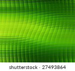 design of abstract green cells background - stock photo