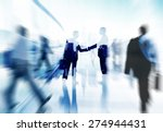 handshake partnership agreement ... | Shutterstock . vector #274944431