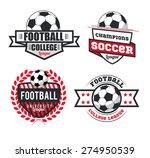 vector set badges logos red for ... | Shutterstock .eps vector #274950539