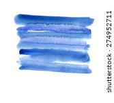 abstract vector watercolor... | Shutterstock .eps vector #274952711