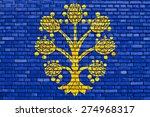 flag of appleby in westmorland...   Shutterstock . vector #274968317