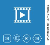 video icon on flat ui colors...
