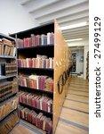 library interior   Shutterstock . vector #27499129