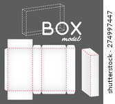 white box model | Shutterstock .eps vector #274997447