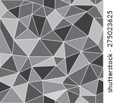 geometric low poly graphic... | Shutterstock .eps vector #275023625