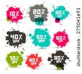 retro vector transparent...   Shutterstock .eps vector #275041691