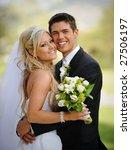 bride and groom | Shutterstock . vector #27506197