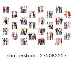 together we stand business... | Shutterstock . vector #275082257