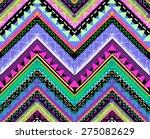 tribal aztec print   seamless... | Shutterstock .eps vector #275082629