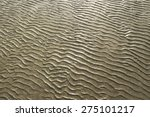 Natural Sand Pattern On  Flat...
