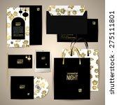 greeting card  letter  flag ... | Shutterstock .eps vector #275111801