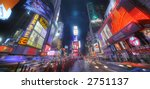 times square  manhattan ny  ... | Shutterstock . vector #2751137
