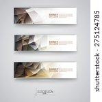 business design templates. set... | Shutterstock .eps vector #275124785