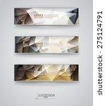 business design templates. set... | Shutterstock .eps vector #275124791
