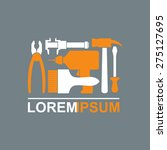 logo of construction tools.... | Shutterstock .eps vector #275127695