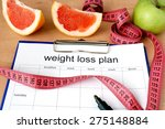Paper With Weight Loss Plan An...