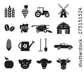 agriculture and farming icon... | Shutterstock .eps vector #275151524