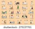 medical staff and patients... | Shutterstock .eps vector #275157701
