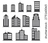 building icons set. vector... | Shutterstock .eps vector #275160065