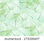 leaves texture background | Shutterstock . vector #275200697