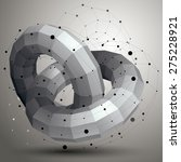 3d Mesh Modern Stylish Abstrac...